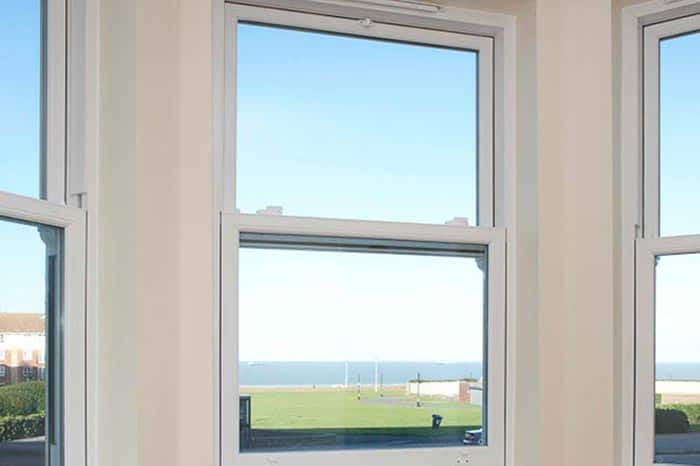 Vertical sliding windows are a common type of double glazing style