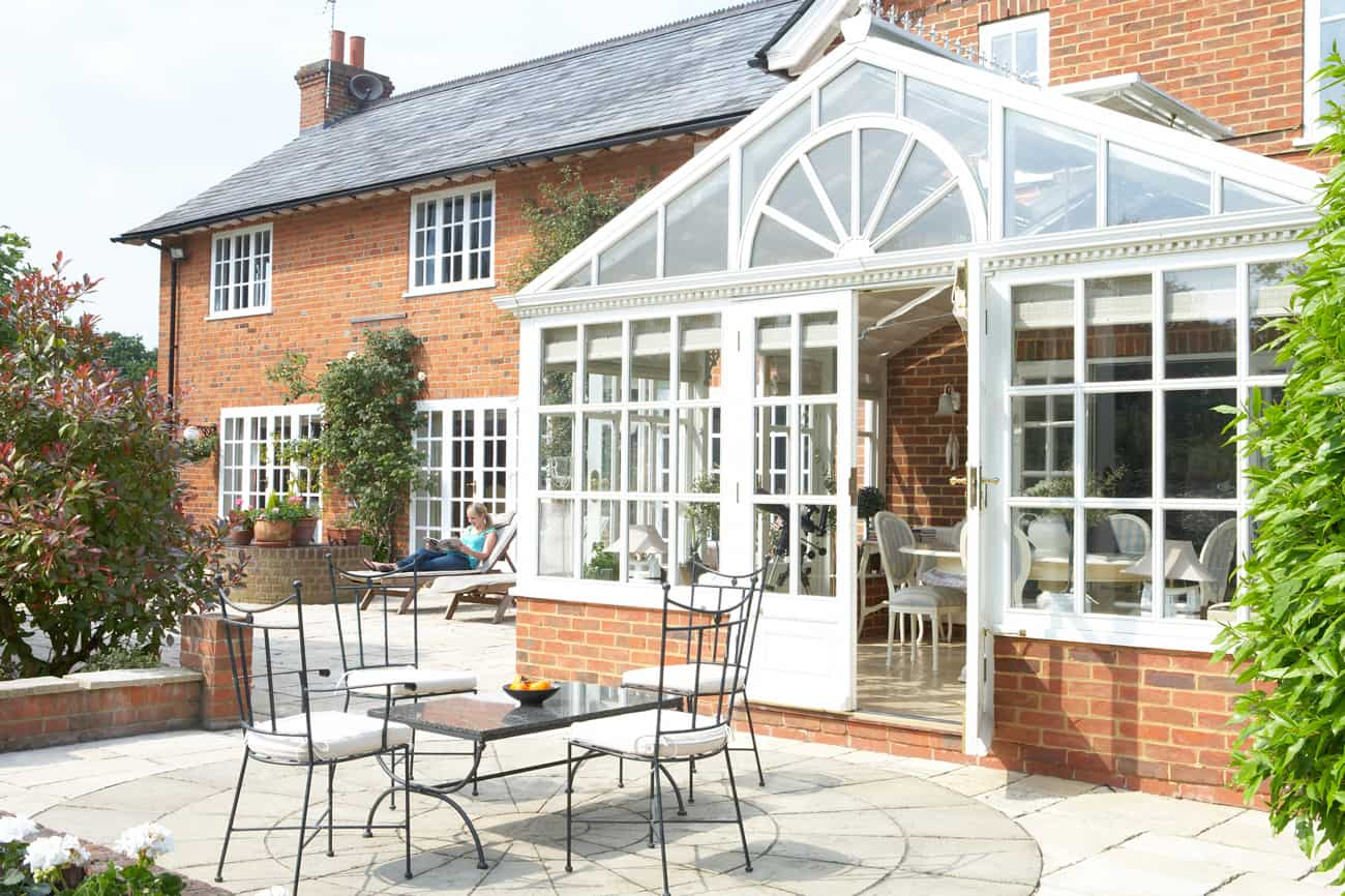 Home Conservatory Glass Panels