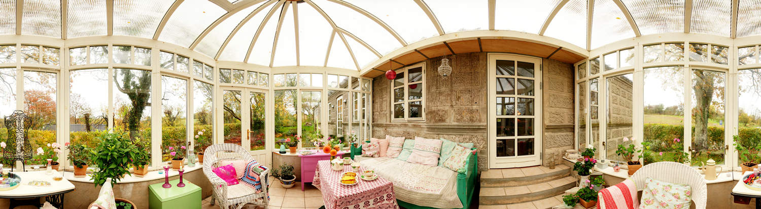 Curved Conservatory Glass Panels